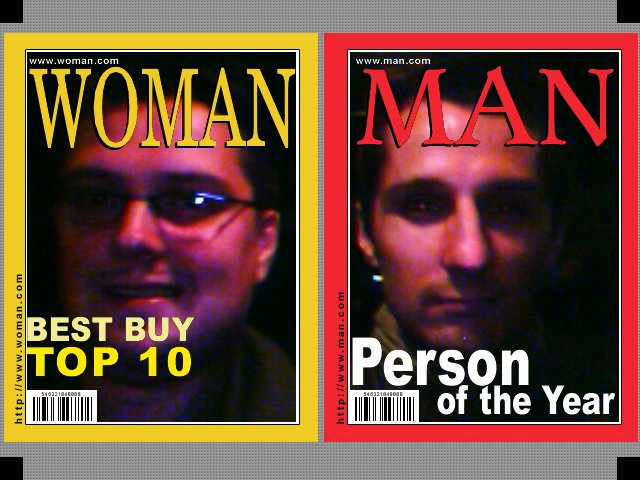 Men und Woman of the Year